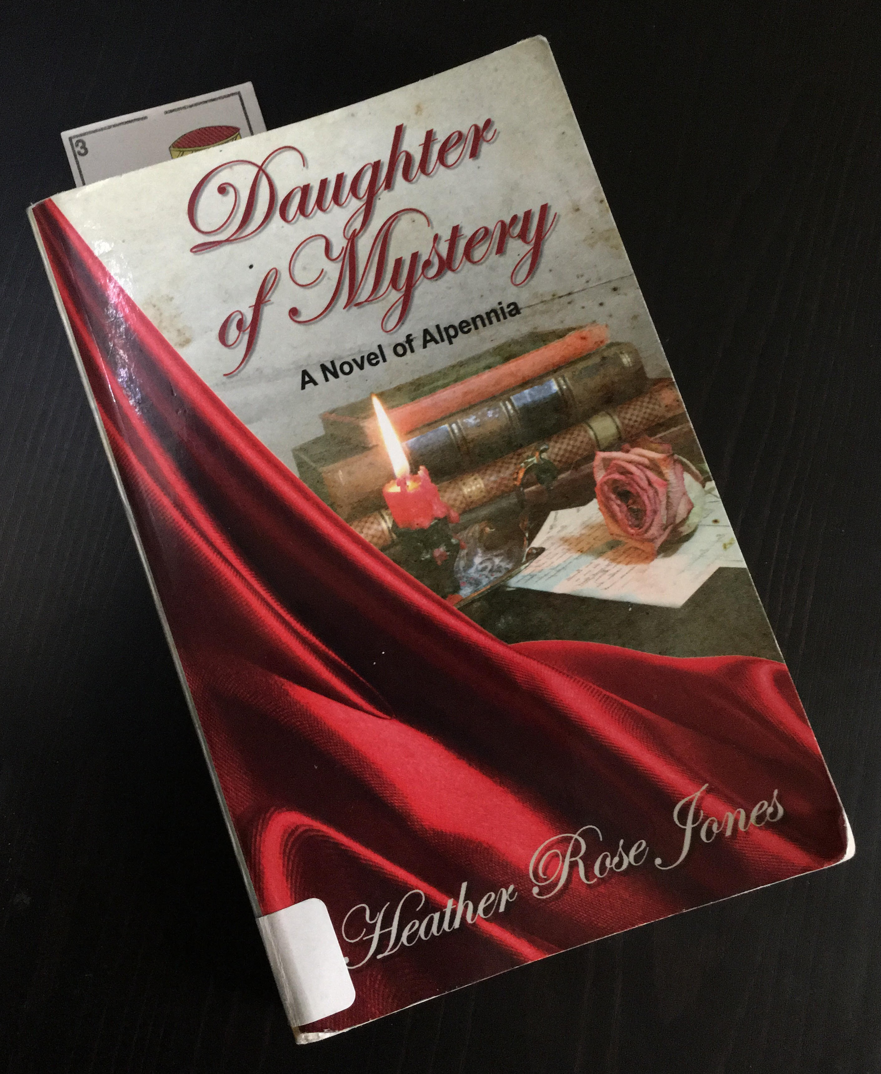"""Cover of """"Daughter of Mystery"""" by Heather Rose Jones"""