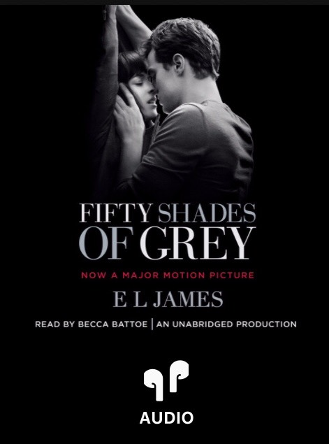Cover of Fifty Shades of Grey audio book